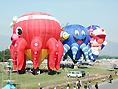シェイプト気球